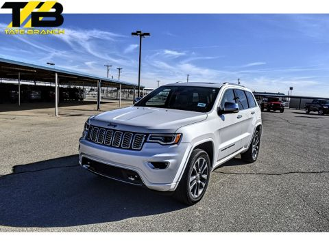 Pre-Owned 2017 Jeep Grand Cherokee Overland